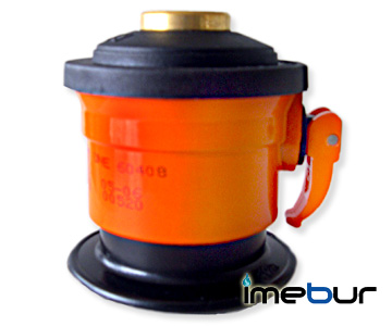 Unreduced Outlet Adapter Jumbo for CAMPING GAS