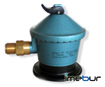 Jumbo Low Pressure Regulator with Thread Outlet